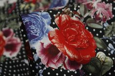 Spotted Garden - Stretch Cotton - Tessuti Fabrics - Online Fabric Store - Cotton, Linen, Silk, Bridal & more