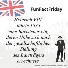 #FunFactFriday bei THE BRITISH SHOP: Heinrich VIII führte 1535 eine Bartsteuer ein, deren Höhe sich nach der gesellschaftlichen Stellung des Bartträgers errechnete.