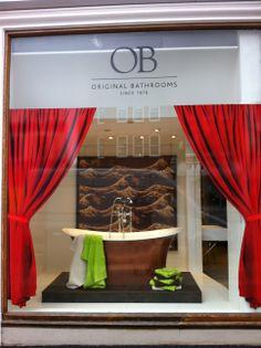OB Japanese window with Aegean bath from Ashton & Bentley