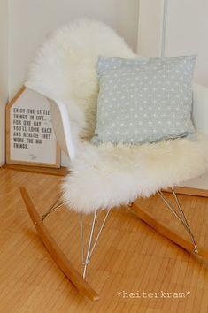 heiterkram: heiterer Klassiker #2 Eames, Rocking Chair, Furniture, Home Decor, Serenity, Armchair, Chair Swing, Decoration Home, Room Decor