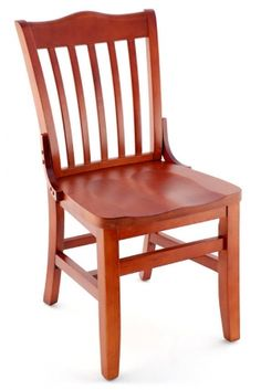 Premium Schoolhouse Wood Chair - Made in the USA