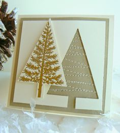 Stitched Christmas in Gold by Penny Smiley; details here: http://stampsnsmiles.blogspot.com/2014/10/christmas-in-gold.html?utm_source=feedburner&utm_medium=email&utm_campaign=Feed%3A+Stampsnsmiles+%28stampsnsmiles%29