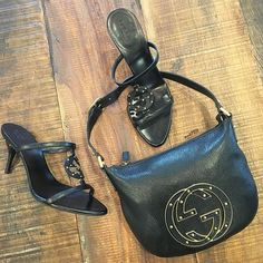Get your favorite Gucci handbags & shoes at Mosh Posh! Stop by today 10-5pm or shop online 24/7 at www.mymoshposh.com/Gucci