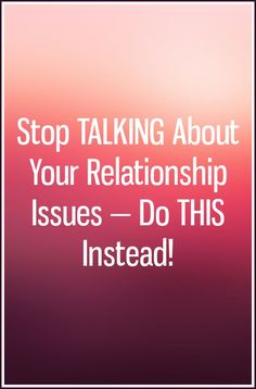 Couples counseling is great, but actions always speak louder than words. All Talk, Actions Speak Louder, Work Meeting, Stop Talking, Relationship Problems, When You Can, Humility, Problem Solving, Counseling