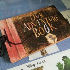 UP, Our adventure book, Photo album, Movie theme, an album for us, Hand Made #OurAdventureBook