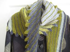 This is a fantastic shawl. The colors are truly awesome. http://www.ravelry.com/projects/Pipapo/leftie-3