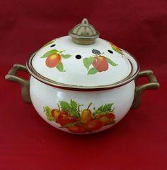 Vintage INCENSE BURNER Fruits with Lid, Gold Trim | Home & Garden, Home Décor, Home Fragrances | eBay!
