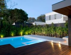 If It's Hip, It's Here: Swimming Pools To Di(v)e For. Amazing Pool & Landscape Designs by OFTB.