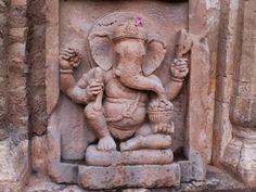 Kalinjar Fort Art in Statues of Shree Ganesh