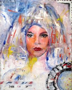 "Saatchi Art Artist MP XQS-I; Painting, ""Pop art portrait"" #art"