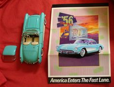 Franklin Mint 1956 CORVETTE Sports by CountryFarmAntiques on Etsy, $30.00