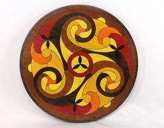 Lazy Susan  Celtic Spiral by heritagebay on Etsy, $80.00