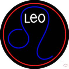 Leo Zodiac Real Neon Glass Tube Neon Sign,Affordable and durable,Made in USA,if you want to get it ,please click the visit button or go to my website,you can get everything neon from us. based in CA USA, free shipping and 1 year warranty , 24/7 service