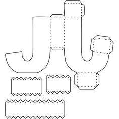 Letras Corte Manual Formatos Png, Sgv, Pdf E Sillhouette Diy Gift Box, Diy Box, Diy Gifts, 3d Alphabet, Alphabet Templates, Diy Letters, Printable Letters, Diy Paper, Paper Art