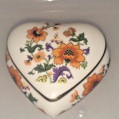 Limoges Rochard France Trinket Jewelry Box Heart NEVER Used in Collectibles, Decorative Collectibles, Decorative Collectible Brands, Limoges, Other Limoges Collectibles | eBay