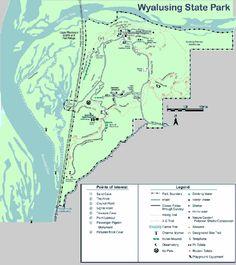 Wyalusing State Park Wisconsin Ridge Campground - YouTube ...