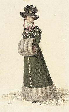 Ackermann's Repository, Promenade Dress, January 1826