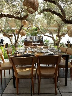 Soho House West Hollywood for THR's Top 25 Stylists Luncheon...perfection
