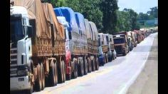 Massive Strike In Brazil: Truckers and Protesters Shut Down Several Major Roadways: http://youtu.be/36wD_7oyj88