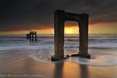 Abandoned Pier - Davenport, CA