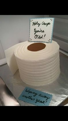 Toilet paper roll cake                                                       …