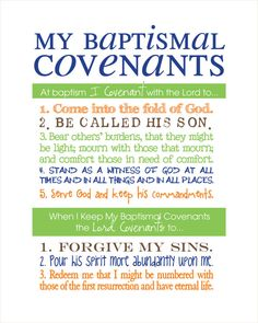 LDS Baptismal Covenants / Promise Printable Boy by WellmanDesigns Baptism Talk, Boy Baptism, Baptism Gifts, Baptism Covenants Lds, Baptism Quotes, Lds Baptism Ideas, Lds Talks, Lds Youth, Scripture Study