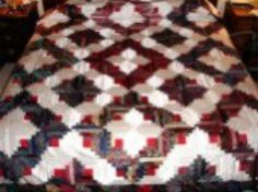Make Your Own Quilt Out of Old Silk Ties: Quilt Made by Using Men's Silk Ties