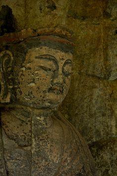 usuki magaibutsu-buddha #oita #japan Buddha Buddhism, Buddhist Art, Buddha Figures, Japanese Gardens, Japanese Prints, Nihon, Wabi Sabi, Temples, Peace And Love