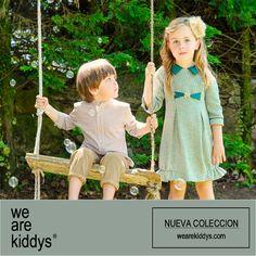 Sanmar, vestido de la nueva colección de invierno, para que nuestras niñas parezcan princesas. Lo podrás encontrar en www.wearekiddys.com