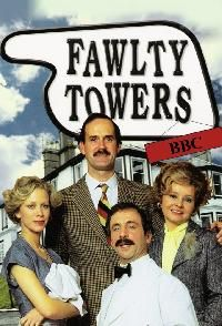 Fawlty Towers -- For today's healthy lifestyle, choose Old London.  oldlondonfoods.com #fawltytowers #comedy #television #british
