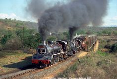 Old railroad trains of south africa in photos Train Car, Train Tracks, South African Railways, Bus City, Old Steam Train, Steam Railway, Old Trains, Steam Engine, Steam Locomotive