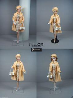 Tenue Outfit Accessoires Pour Fashion Royalty Barbie Silkstone Vintage 1366 | eBay