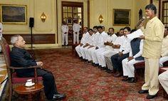 moviestalkbuzz: AP CM Chandrababu Naidu Welcome  President of Indi...