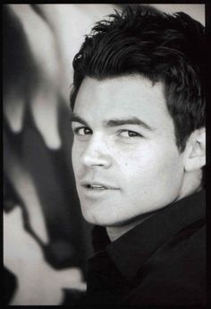 He is kind of perfect. Tall, dark, handsome... Daniel Gillies-  Elijah Vampire Diaries