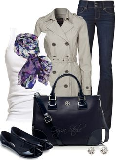 """Classic Trench"" by orysa on Polyvore"