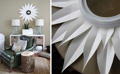 Diseño de espejos con objetos reciclados