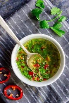 Ecuadorian Garlic-Chile Dipping Oil