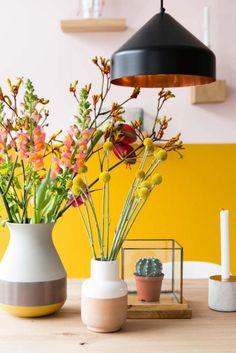"""Jaune Housse de coussin Apple Blossom Mimosa fleurs DESIGNERS Floral Tissu 16/"""""""