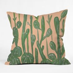 Rosie Brown Desert Town Meeting Outdoor Throw Pillow   DENY Designs Home Accessories