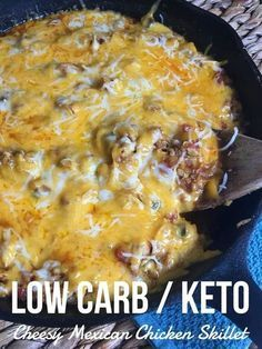 """TweetEmail TweetEmail Share the post """"Cheesy Mexican Chicken Skillet {low carb/keto}"""" FacebookPinterestTwitterEmail The past couple of weekshave been crazy around here. I can't even believe that school has started back. As a homeschool mom, I hate to see our laid back summer coming to an end. One thing is for sure; dinner has to becontinue reading..."""
