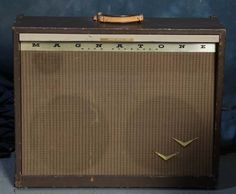 Buddy Holly's 1958 Magnatone Custom 280 amplifier