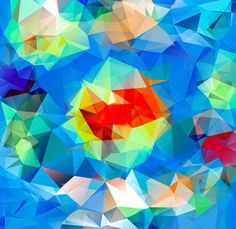 Set of Patterns of Triangle Shapes by robuart on Creative Market