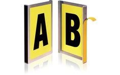 Storage Design Limited - Warehouse Environment - Labelling & Signage - Warehouse Signs - Magnetic & Self-Adhesive Bay Markers