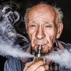 Regrann from @Vappix Who say's Grandpas can't vape! ・・・ Purge Hans, Purge! Photo by @Vappix CIGARETTES HAVE BEEN CONQUERED AND VAPING IS THE WAY! ***WFV The cleanest and most effective e-liquid on the market*** EXPERIENCE THE DIFFERENCE. #worldsfinestv