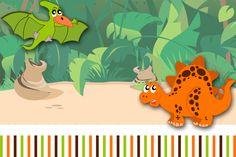 Montando a minha festa: Dinossauros