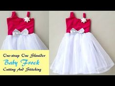 45f545589 Latest Designer Baby Frock Cutting And Stiching ! DIY ! - YouTube ...