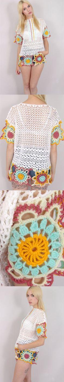 ❥❥ Crochet ❥❥ Jú Seen on ZouZou Vintage. No Pattern