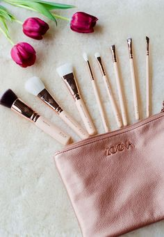 ZOEVA Rose Golden Luxury Set Vol.2 Makeup Brushes Review » Vancouver Style & Beauty Blog