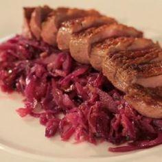 Kachní prsa s červeným zelím a bramborovým knedlíkem Beef, Food, Meat, Essen, Meals, Yemek, Eten, Steak
