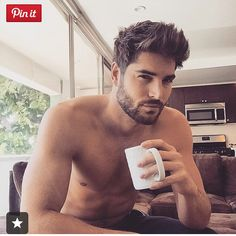 Nick Bateman - hair and facial hair. Men Coffee, Black Coffee, Nick Bateman, Morning Joe, Morning Coffee, Coffee Time, Coffee Break, Tea Time, Hair Styles 2016
